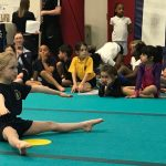 City of M'cr Gymnastics host Primary Key Steps