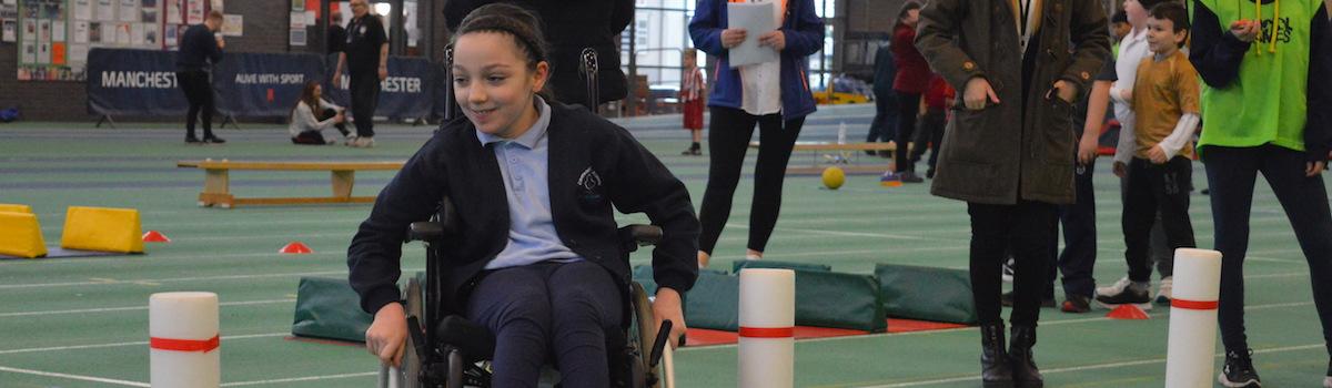MPEA Slalom wheelchair